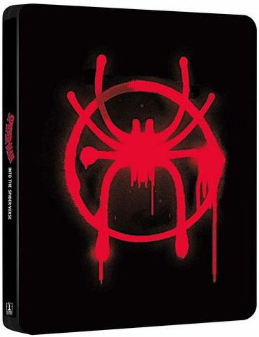 steelbook spiderman spider verse