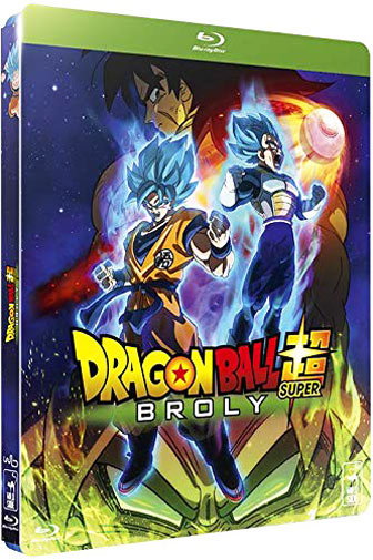 Dragon ball super Broly Blu ray DVD film 2019