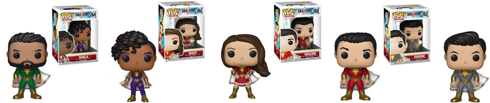 Funko pop dc comics shazam