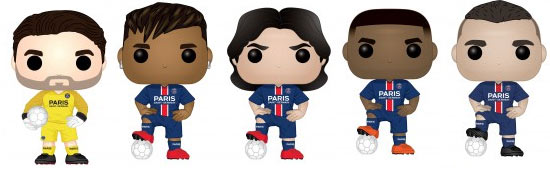 Funko pop psg foot football 2019