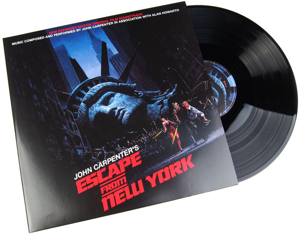 escape from new york 1997 Vinyle LP bo ost soundtrack