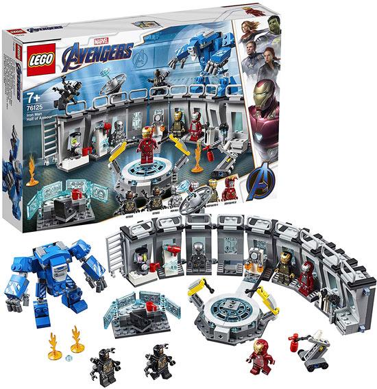 lego avengers endgame 76125 armures iron man