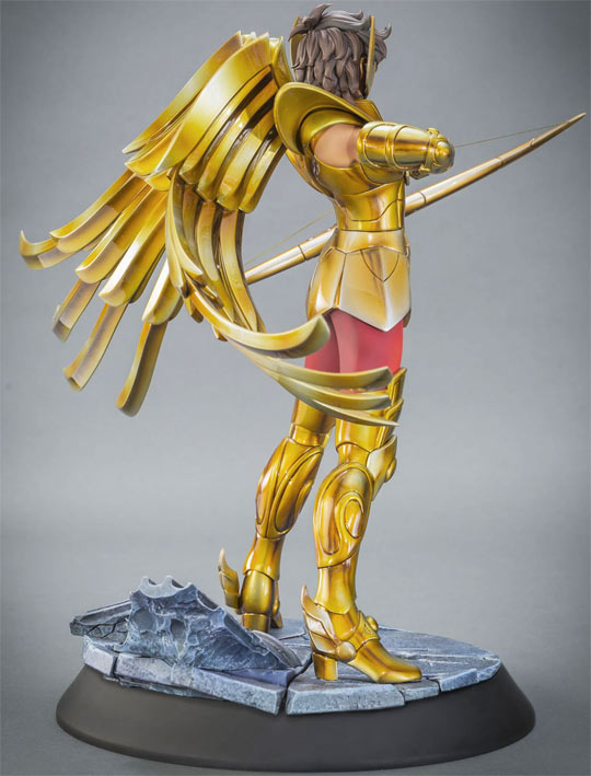 Figurine collector tsume Saint seiya aiolos