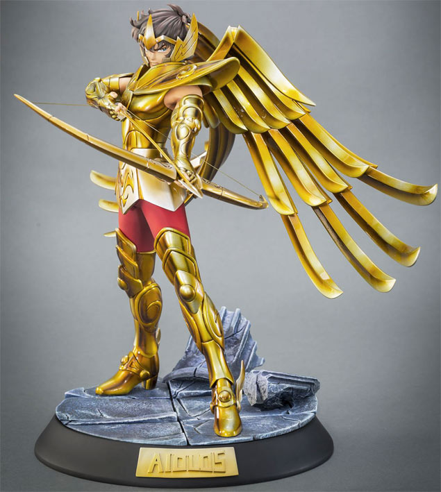 figurine saint seiya aiolos Tsume edition limitee collector