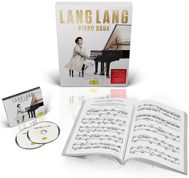 lang lang edition limitee CD Vinyle LP 2019 Piano Book