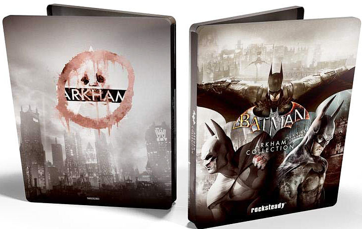 Batman arkham collection steelbook collector PS4