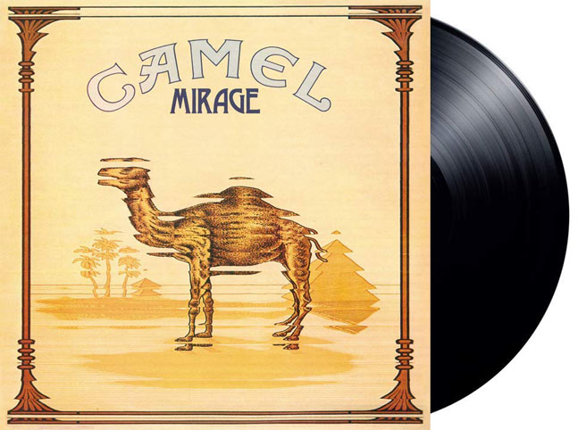 Camel vinyle lp mirage cigarette edition