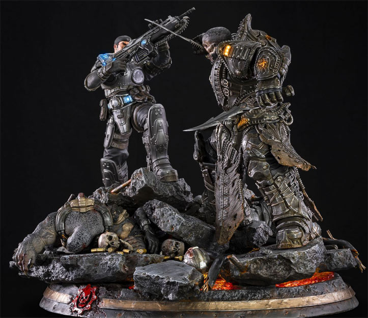 Figurine collector gears of wars limited editino tsume