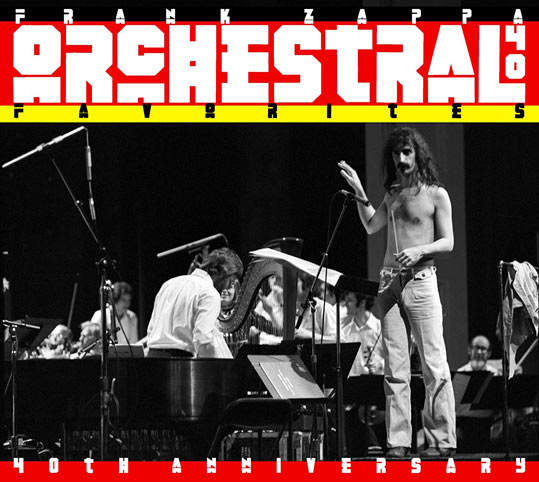 Frank Zappa orchestral favorites 40th
