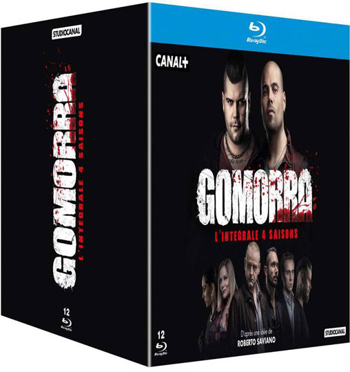 Gomorra coffret integrale Blu ray DVD