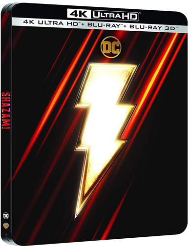 Shazam steelbook collector blu ray dvd