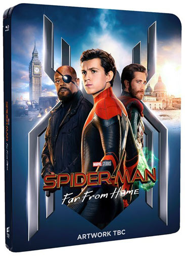 Steelbook spider man 2019 Far From Home Blu ray 4K 3D