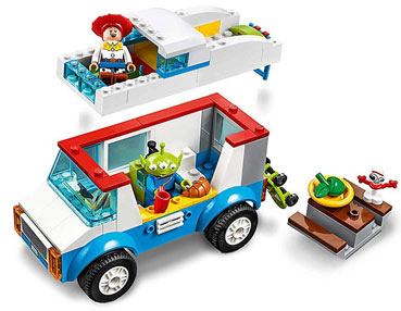 camping car toy story lego