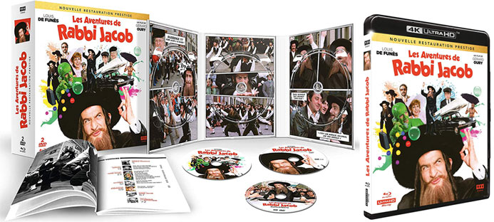 coffret collector comedie dvd bluray 4k