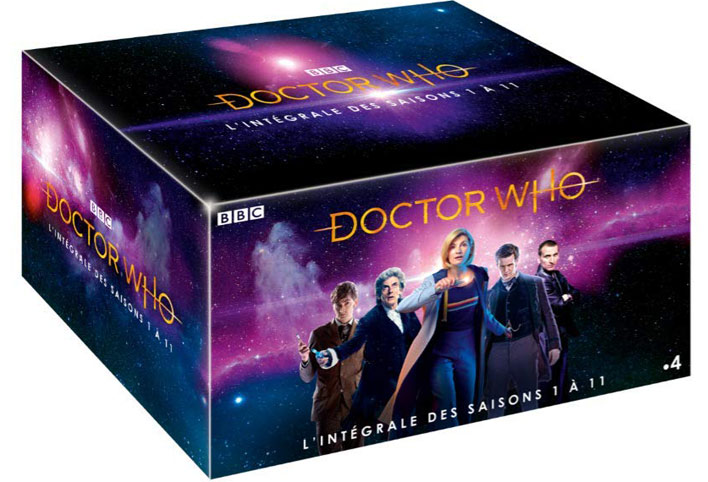 coffret integrale DVD doctor who saison 1 11 2019