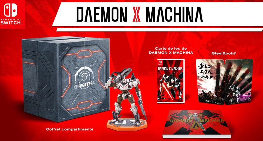 daemon ex machina coffret collector edition limitee nintendo switch