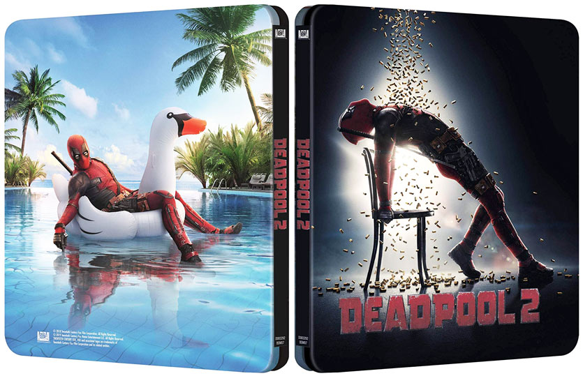 deadpool 2 nouveau steelbook 2019