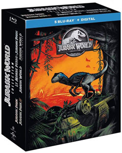 jurassic promo blu ray dvd 4k collector