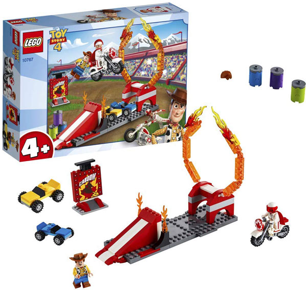 lego toy story 4 circuit course duke caboom woody