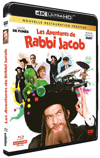 rabbi jacob blu ray 4K Ultra HD