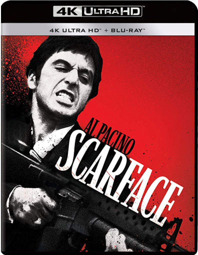 scarface blu ray 4k edition collector figurine 2019