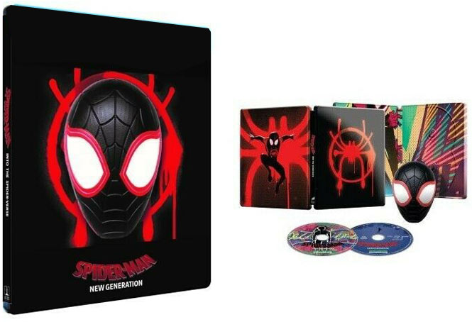 steelbook spiderman new generation magnet ediiton fnac 3D 4K