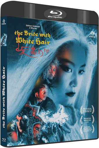 the bride with white hair mariee au cheveux blanc Blu ray coffret edition collector