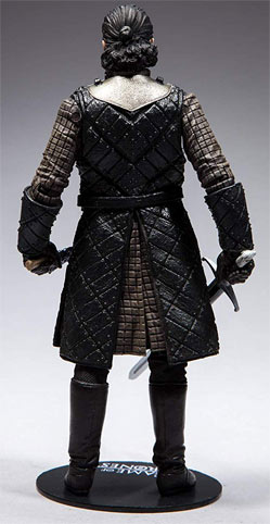 John Snow figurine game of thrones collector mcfarlane