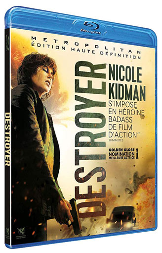 destroyer film nicole kidman 2019 Blu ray DVD
