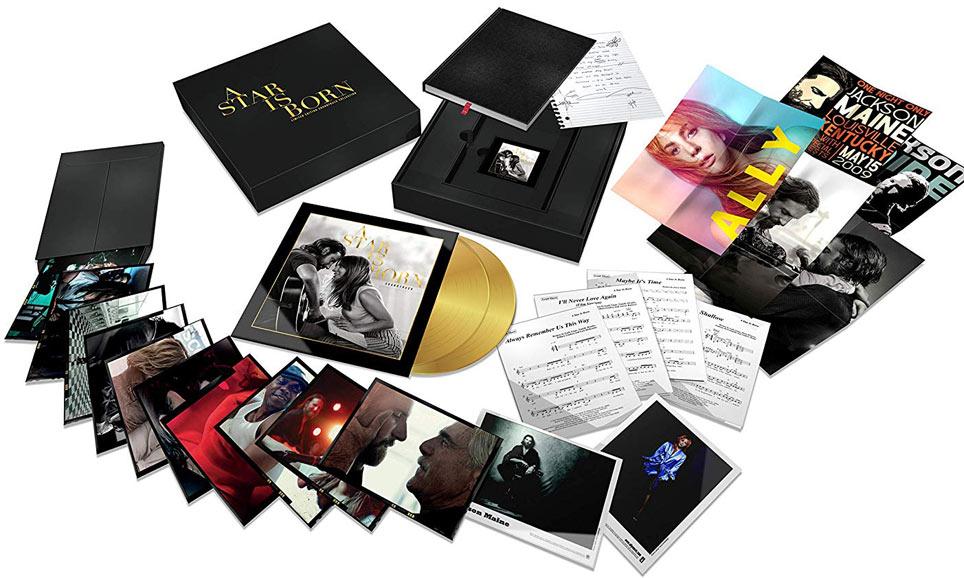 Bande Originale Soundtrack Star Is Born Lady Gaga Coffret Box