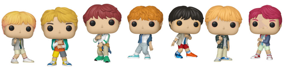 BTS FUNKO POP figurine