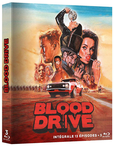 Blood Drive Serie Blu ray DVD