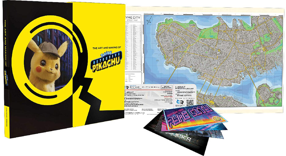 Detective pikachu Artbook edition deluxe collector dark horse