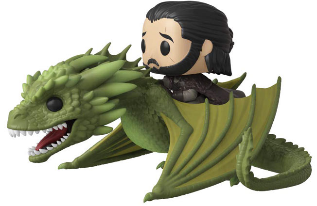 Funko dragon jon Snow figurine collection game of thrones