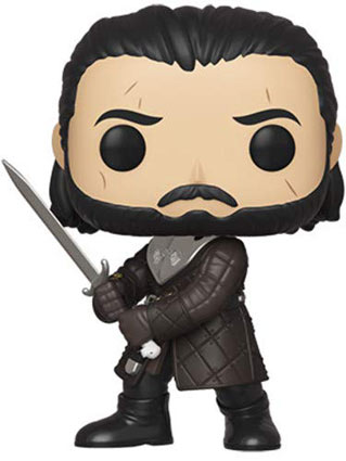 Jon Snow saison 8 game of thrones figurine funko pop 2019