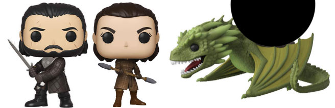funko pop jon snow saison 8