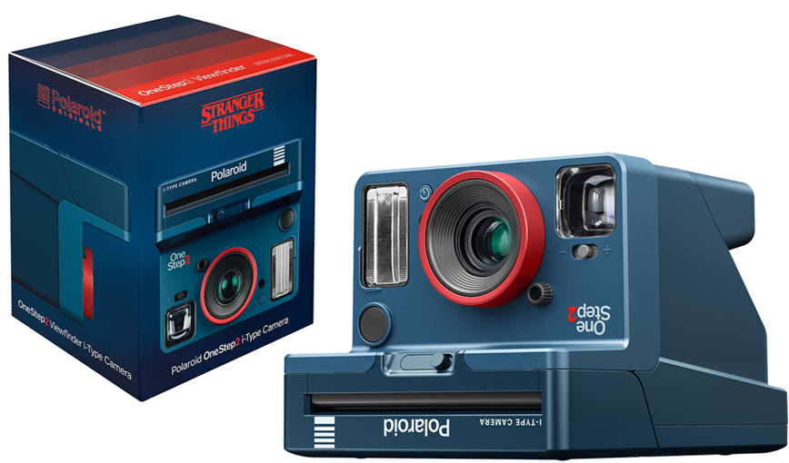 polaroid edition limitee stranger things collector 2019 one step 2 onestep