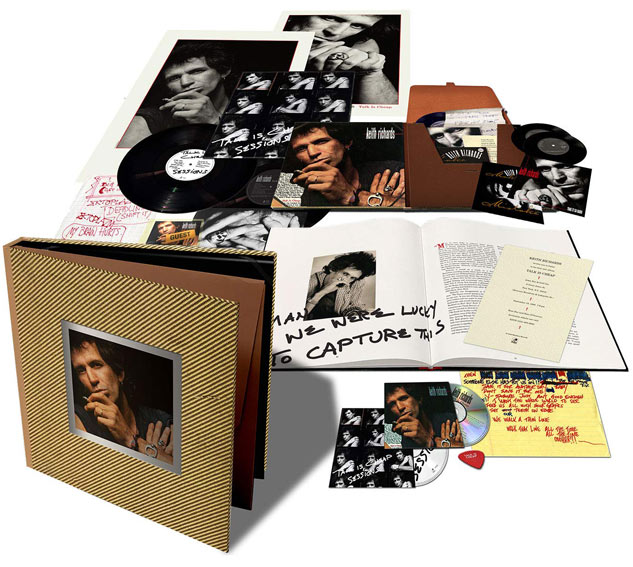coffret-collector-keith-richard-Vinyle-LP-30th-anniversary-2019-CD