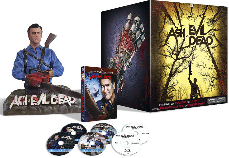 coffret-collector-evil-dead-integrale-serie-figurine-statue-Blu-ray
