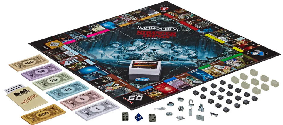 Monopoly collector stranger Things
