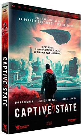 Captive State sortie dvd bluray