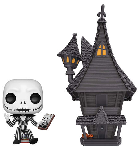 Figurine funko pop deluxe Jack chateau nightmare before christmas