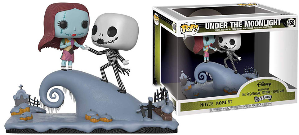 figurine deluxe collector Funko pop Jack Nightmare before christmas etrange noel