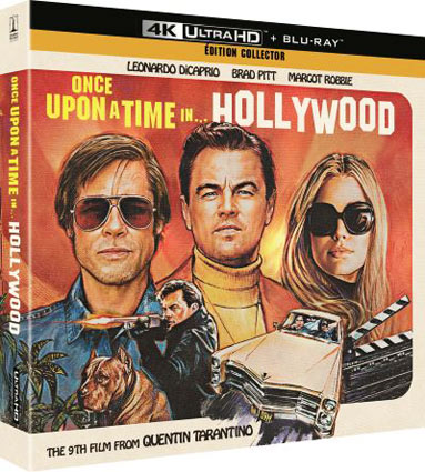 4k ultra collector once upon time hollywood blu ray box