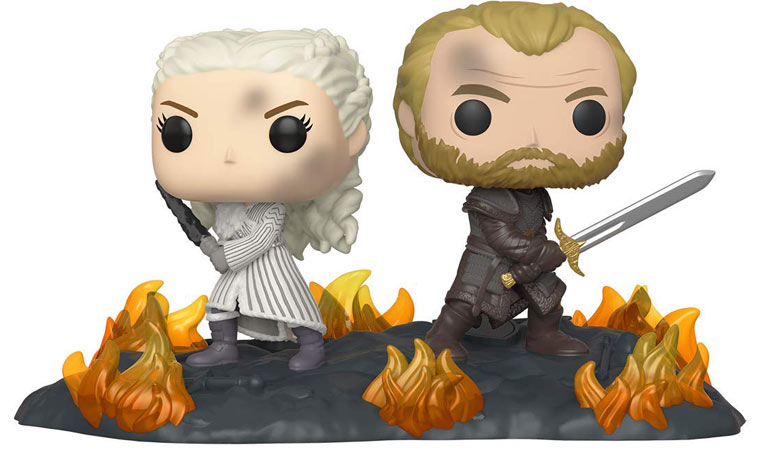 Daenerys jorah funko pop collection edition limitee collector