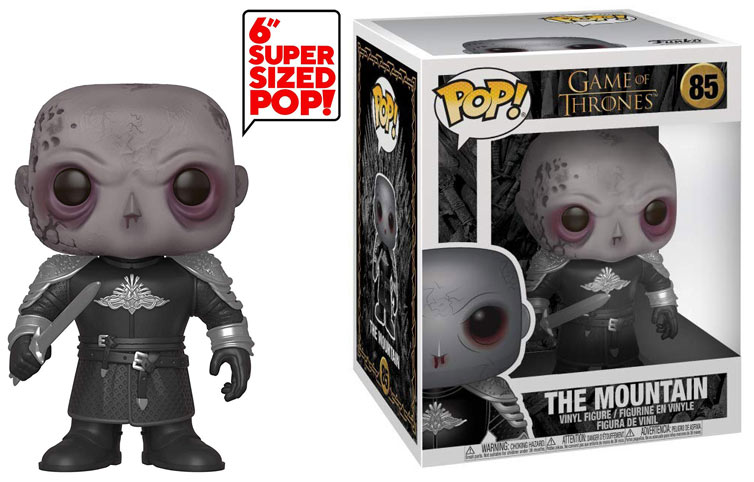 Funko game of thrones mountain montagne zombi super sized