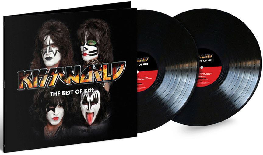 KISS best of kiss double vinyle lp gatefold 2019