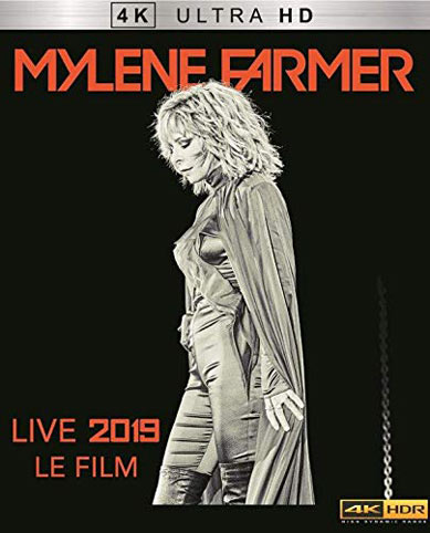 Mylene farmer Blu ray DVD 4k ultra HD film 2019 live