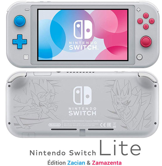 Nintendo Switch Lite collector edition limitee 2019