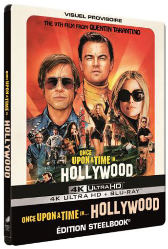 Steelbook once upon a time in hollywood edition collector limitee Blu ray 4K